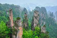 Zhangjiajie mountains, China