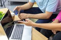 Freelance using credit card