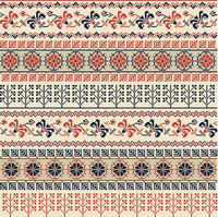 Palestinian embroidery pattern 29