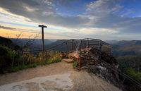 Leura Blue Mountains Australia mountain valley views