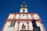 Church of the Assumption in Polna.Czech Republic
