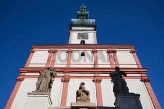 Church of the Assumption in Polna.Czech Republic