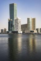 Buldings at Dubai Business Bay, UAE