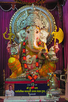 Lord Ganesha. Fourth Manacha Ganpati of the city, The Tulshibaug Ganpati was installed in 1901