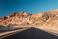 Artist's Drive in Death Valley
