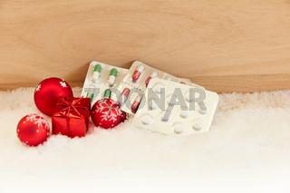 Medikamente zu Weihnachten als Geschenk