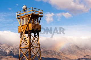 Old Guard Tower Manzanar Internment Camp California