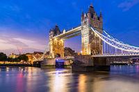 Lifting up London Tower Bridge