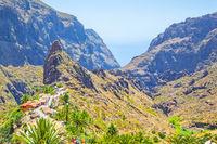 Masca Gorge in Tenerife