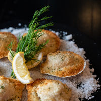 deep fried Hokkaido Scallops