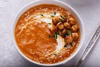 Carrot pumpkin soup
