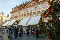 Christmas advent market at Old Town Square, Prague