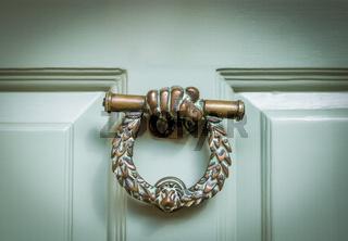 English Ornate Door Knocker