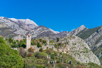 Ruins of Stari Bar in Montenegro