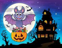 Halloween bat theme image 2