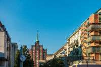 Blick über die Breite Straße in Rostock
