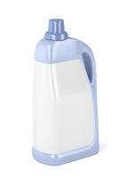 Big plastic bottle for liquid detergent