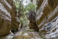 Schlucht von Avakas in Zypern