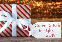 Atmospheric Christmas Gift Guten Rutsch 2019 Means New Year