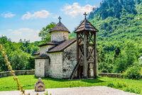 Dobrilovina monastery in Montenegro