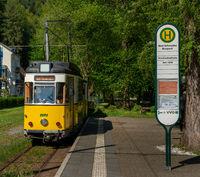 Kirnitzschtalbahn in Sachsen