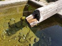 Brunnen, Holzbrunnen