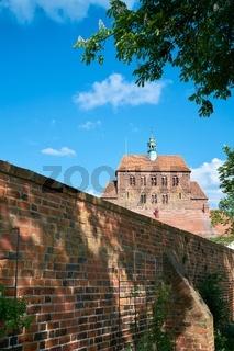 Blick auf den Havelberger Dom St. Marien