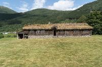 Bauernhaus in Stordal, Norwegen