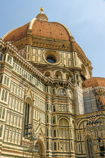 View on the Cathedral of Santa Maria in Florence
