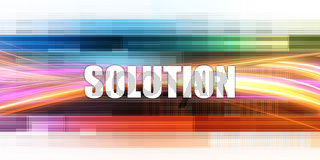 Solution Corporate Concept