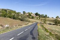 Das Dörfchen Loubaresse in der Ardeche, Frankreich
