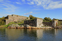 Fortifications in Sea Fortress of Suomenlinna