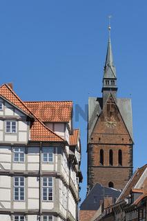 Hannover - Marktkirche in der Altstadt, Deutschland