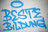 Slogan Beste Bildung