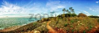 Panorama von einer Bucht auf Mallorca / Son Veri Nou