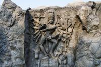Lord Shiva, Hadshi Temple, Sant Darshan Museum near tikona Vadgoan Maval, District Pune, Maharashtra, India