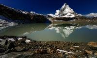 The Alpine region of Switzerland