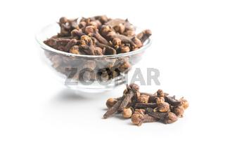 Carnation, dried clove spice.