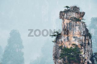 Zhangjiajie mountains, China