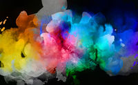 farben wolken leuchtend