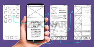 Developing mobile app UI