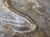 Nahaufnahme des Musters eines Felsens als Hintergrund