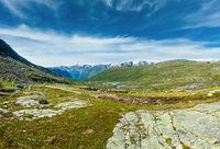 Summer highlands plateau, Norway