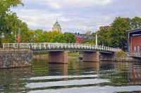 Suomenlinna Bridge in Early Autumn