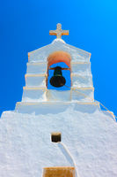 Belfry of old greek church