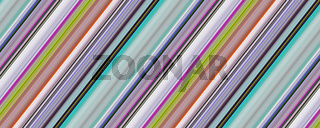 Fantastic stripe panorama background design illustration
