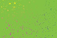 confetti flicker green  background