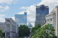 View of downtown Raleigh NC capitol