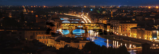 Night over Ponte Vecchio