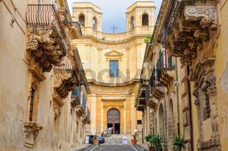 Chiesa di Montevergine - Noto